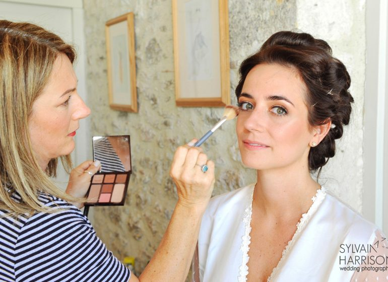 Sarah Rees August Wedding Languedoc Makeup Artist